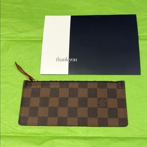 Louis Vuitton wallet Insert
